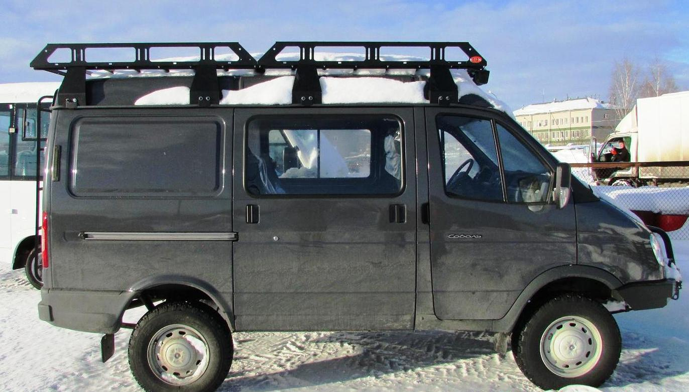 Багажник на крышу соболь фото