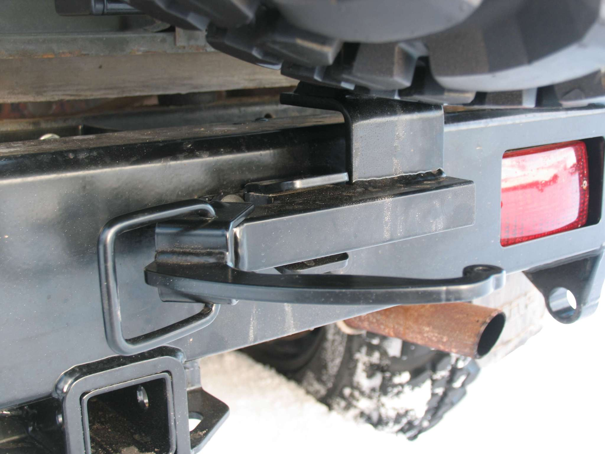 Задний силовой бампер для уаз 469 своими