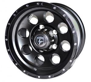 Диск литой УАЗ 5х10 R15 ЕТ-40 черный Matt Black