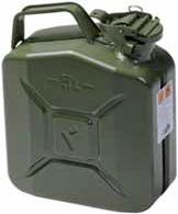 Канистра Rexxon (металл) 5л цвет - оливковый
