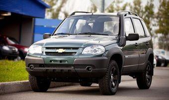 Шноркель Chevrolet-Нива