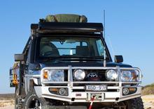 Бампер ARB передний DELUXE TLC76 с расширителями арок (для моделей с 2007 г.)
