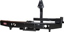 Бампер РИФ задний УАЗ Hunter/3151/469 с калиткой и площадкой под лебёдку лифт