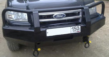 Бампер РИФ передний Ford Ranger с площадкой для лебёдки (для моделей с 2007 г.)