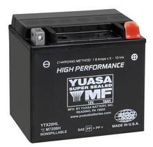 Аккумулятор YUASA YTX20HL-BS (20L-BS), арт.20HL-BS, код 22473
