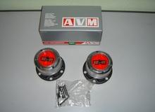 Комплект механических муфт (хабов) AVM-410HP MANUAL (UAZ) усиленные