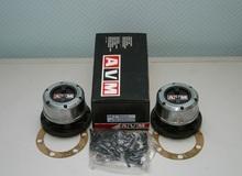 Комплект механических муфт (хабов) AVM-461 MANUAL (Nissan Terrano I/Pathfinder Navara, X-Terra, PickUp)