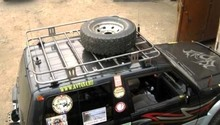 Багажник экспедиционный Mitsubishi Pajero II 3d