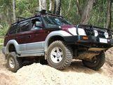 Бамперы для Toyota Land Cruiser Prado 90