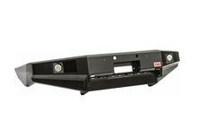 Бампер РИФ передний MAZDA BT-50 с площадкой для лебёдки и доп. оптикой без кенгурина (с 2007 г.)