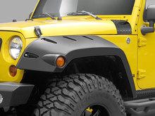 Расширители колесных арок Pocket Style для Jeep Wrangler 07-14 г.в.JK 2-х и 4-х дверный кузов. Передня пара.