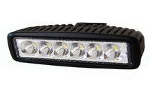 Светодиодная LED фара дальнего света 6 диодов 18W Epistar