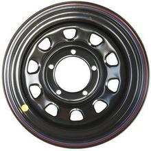 Диск стальной Off-Road Wheels НИВА 5х7 R15 ЕТ+25 черный А07