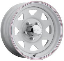 Диск колесный крашеный белый УАЗ 5х10 R16