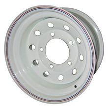 Диск стальной ORW НИВА 5х7 R15 ЕТ+25 белый с круглыми отверстиями