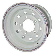 Диск стальной Off-Road Wheels НИВА 5х7 R15 ЕТ+25 белый с круглыми отверстиями