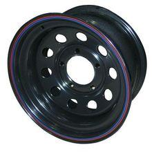 Диск стальной Off-Road Wheels НИВА 5х7 R15 ЕТ+25 черный с круглыми отверстиями