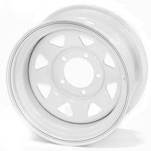 Диск стальной Off-Road Wheels НИВА 5х7 R15 ЕТ+25 белыйс  треугольными отверстиями