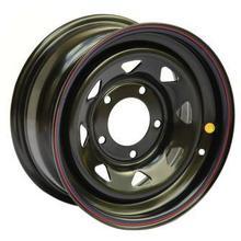 Диск стальной Off-Road Wheels НИВА 5х7 R15 ЕТ+25 черный