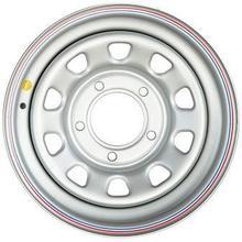 Диск стальной Off-Road Wheels НИВА 5х7 R15 ЕТ+25 серебристый А07