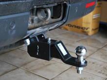 Фаркоп Land Rover Discovery III, Тип шара: E (легкосъемный шар под квадрат американского типа), вставка 50x50 и шар в комплекте.