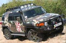 Боковая защита кузова ARB FJ Cruiser