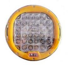 Фара светодиодная CH035Y 185W 37 диода по 5W Желтая