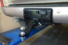 Переходник РИФ для фаркопа в штатный задний бампер Toyota Land Cruiser 200