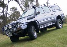 Шноркель SAFARI Toyota HiLux 1/89 - 11/97 2.8Litre-I4 3L