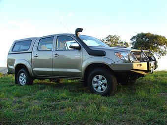 Шноркель SAFARI Toyota HiLux series 4/05 - 10/2011 3.0Litre-I4