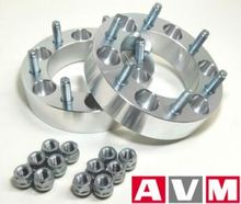 Колесные проставки (AVM 6U009). Комплект 2шт, 6x139.7 ц.отв 106.4мм, толщина 31.75 мм