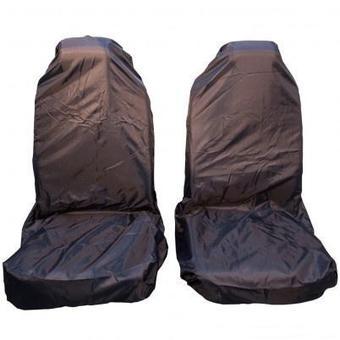 Передний грязезащитный чехол на сиденья PRO-4x4 MEDIUM синий