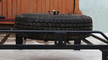 Кронштейн OJ для крепления запасного колеса на багажнике