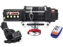 Лебедка ATV MW X6000LS (тяговое усилие до 2700 кг) с синтетическим тросом