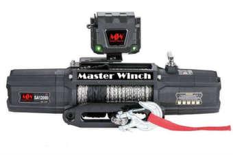 Лебедка MW SA 12000s 12v (тяговое усилие до 5410 кг) с синтетическим тросом
