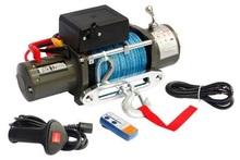 Лебедка Electric Winch 12000 12v с синтетическим тросом