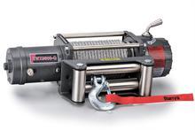 Лебёдка Runva 9500 lbs 4350 кг 12V с металлическим тросом, редуктор 110:1