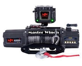 Лебедка MW A 9500S 12v (тяговое усилие до 4310 кг) с синтетическим тросом