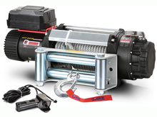 Лебедка MW E9500 12v (тяговое усилие до 4310 кг) с металлическим тросом