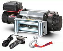 Лебедка MW E12500 12v (тяговое усилие до 5410 кг) с металлическим тросом