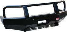 Бампер РИФ передний MAZDA BT-50 с площадкой для лебёдки (с 2007 г.)