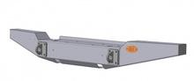 Бампер OJ передний УАЗ Хантер с площадкой под лебедку и проушинами стандарт