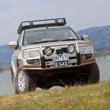 Бампер ARB передний DELUX Mitsubishi Pajero Sport (для моделей без омывателей фар, с 2009 г.)