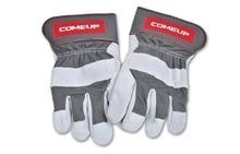 Перчатки COMEUP кожанные для работы с лебедкой