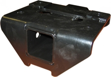 Переходник для установки фаркопа на задний бампер РИФ с площадкой под лебедку