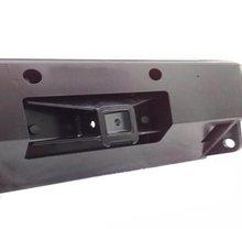 Кронштейн с квадратом для съемной лебедки (площадки) под бампер РИФ с вертикальным креплением лебедки