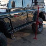 Пороги силовые для Land Rover Defender