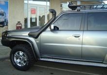 Пороги ARB + защита крыла Nissan Patrol