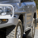 Пороги силовые для Toyota Land Cruiser
