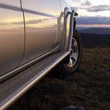 Пороги силовые для Nissan Patrol Y61
